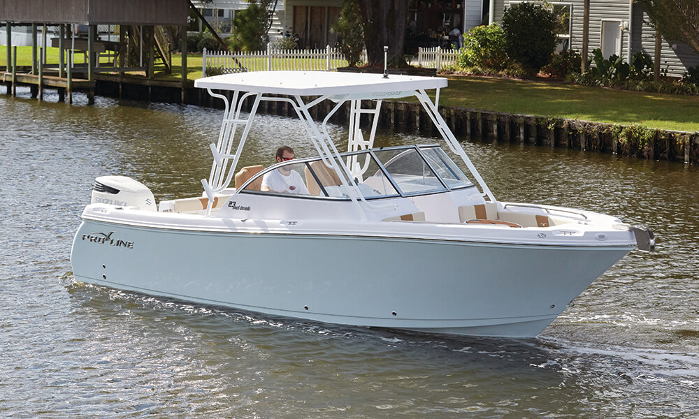 Proline Boats For Sale >> 23 Dual Console   Models   Pro-Line Boats   USA