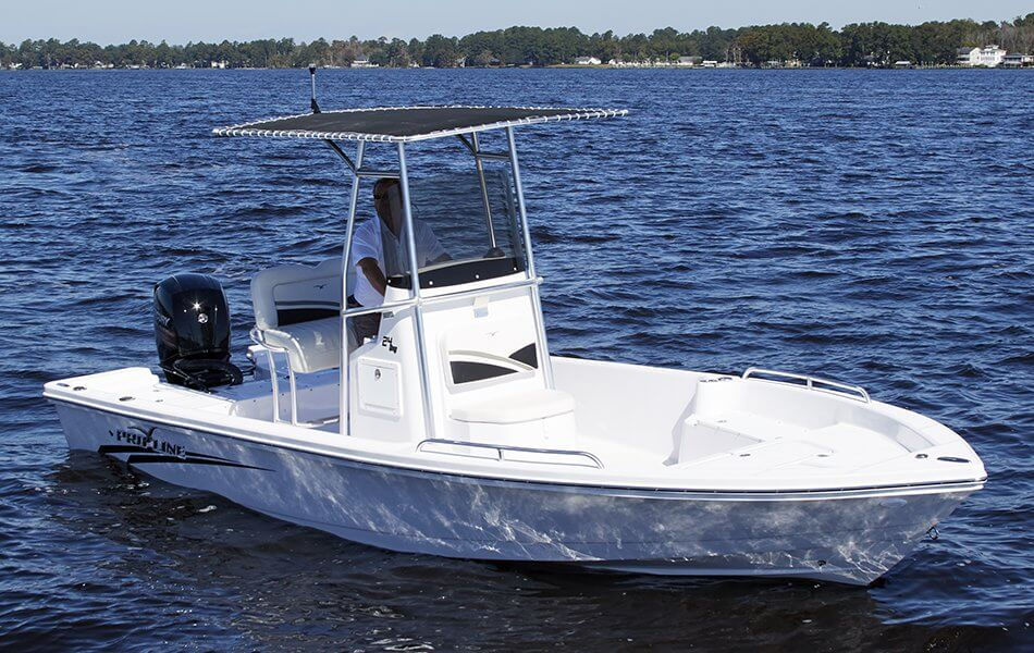 24 bay sport boat pro line boats for Center console sport fishing boats