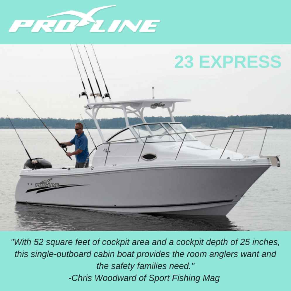 Learn About the Pro-Line 23 Express | Blog | Pro-Line Boats